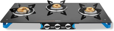 Vidiem AIR Stile Plus Glass Manual Gas Stove(3 Burners) at flipkart