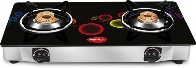 Pigeon Apollo 2 Steel Manual Gas Stove(2 Burners) at flipkart