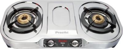 Preethi-Vesta-Stainless-Steel-Gas-Cooktop-(2-Burner)
