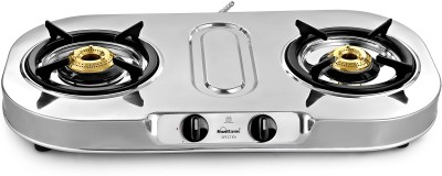 Sunflame Spectra Stainless Steel Manual Gas Stove(2 Burners) at flipkart