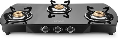 Ideale Desso Glass, Stainless Steel Manual Gas Stove(2 Burners)