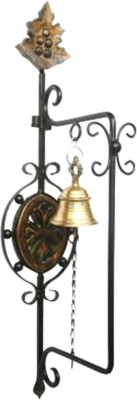 Crafts World Wooden Decorative Bell at flipkart