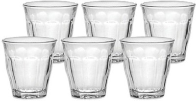 Duralex Picardie Glasses Glass Set(Glass, 250 ml, Clear, Pack of 6)