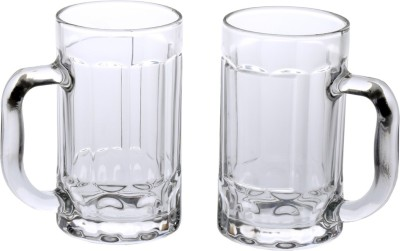 Somil Glass Set(425 ml, Clear, Pack of 2) at flipkart