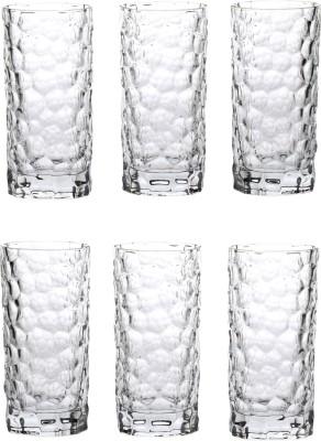 Somil Glass Set(330 ml, Clear, Pack of 6) at flipkart