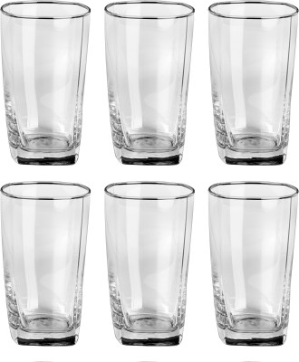 Bloom Glass Set(330 ml, Clear, Pack of 6) at flipkart
