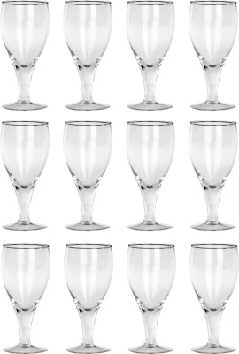 Somil Glass Set(300 ml, Clear, Pack of 12) at flipkart