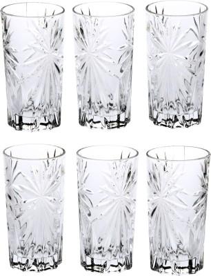 Somil Glass Set(275 ml, Clear, Pack of 6) at flipkart