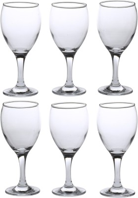 Pasabahce 41500 Glass Set(370 ml, Clear, Pack of 6)