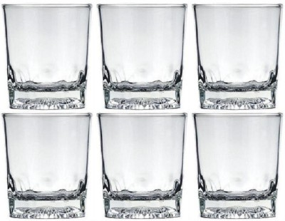 Lucky Thailand 18453 Glass Set(320 ml, White, Pack of 6)