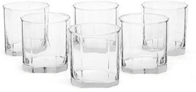 Ocean  Pack of 6  OCEAN B02309 PYRAMID 260 ML Glass Set 260 ml, Glass Ocean Glasses