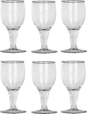 Somil Glass Set(350 ml, Clear, Pack of 6) at flipkart