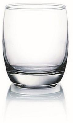 Ocean  Pack of 6  Ivory Rock Tumbler 265ml Glass Set 265 ml, Glass Ocean Bar Glasses