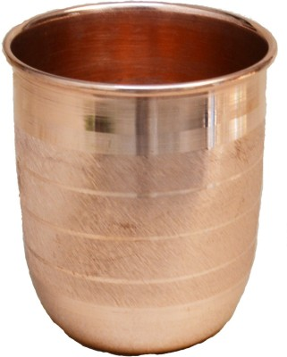 Veda Home   Lifestyle GL121 Glass 200 ml, Copper Veda Home   Lifestyle Glasses