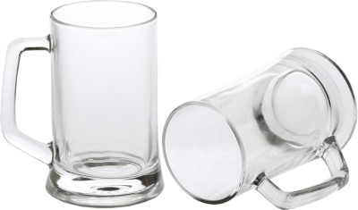 Somil Glass Set(400 ml, Clear, Pack of 2) at flipkart
