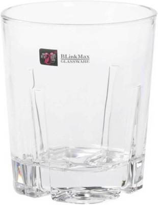 Megalite Glass Set(280 ml, Clear, Pack of 6) at flipkart
