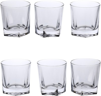Somil Somil New Shape Designer But Simple Multipurpose Glass Set Of 6 Glass Set(Glass, 275 ml, Clear, Pack of 6) at flipkart
