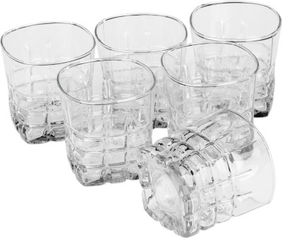 Somil Glass Set(330 ml, Clear, Pack of 6) at flipkart