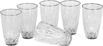 Somil Glass Set(250 ml, Clear, Pack of 6) at flipkart