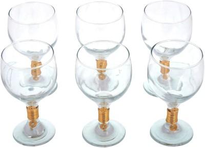 JewelKraft Designs  Pack of 6  1125 Glass Set 300 ml, Glass JewelKraft Designs Bar Glasses