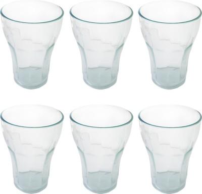 Apex  Pack of 6  PC Glass Glass Set 250 ml, Plastic Apex Glasses