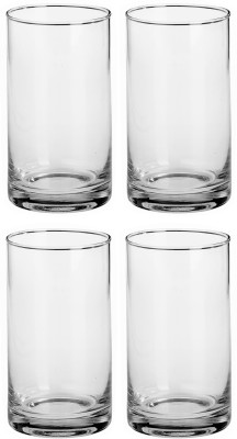 Somil Glass Set(330 ml, Clear, Pack of 4) at flipkart