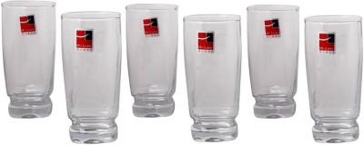 Bohemia Crystal Hi ball Glass set Glass Set(Glass, 480 ml, Clear, Pack of 6)