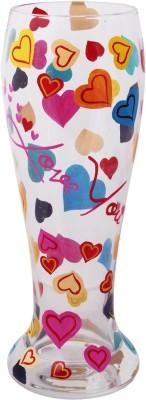 The Crazy Me Glass(500 ml, Multicolor, Pack of 1) at flipkart