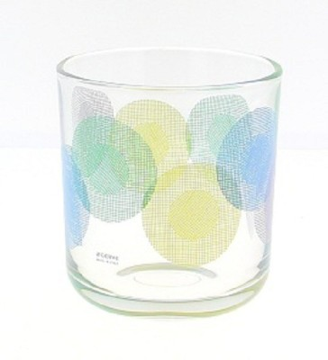 Cerve Glass Set(285 ml, Clear, Blue, Pack of 6) at flipkart