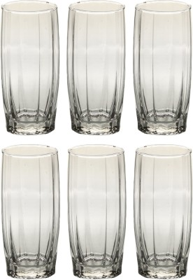 Somil Glass Set(310 ml, Clear, Pack of 6) at flipkart