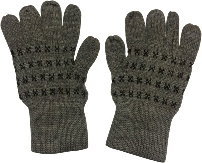 Uncle Benit Solid Winter Women Gloves at flipkart