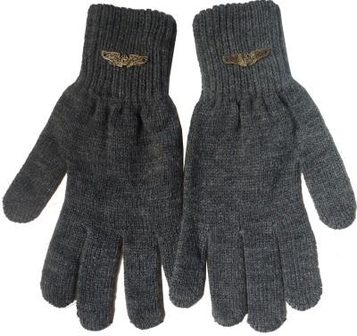 Gajraj Woollen Solid Winter Men Gloves