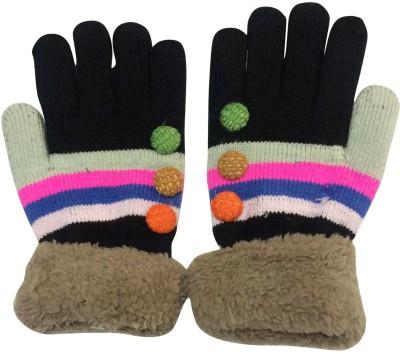 Uncle Benit Solid Winter Women Gloves at flipkart