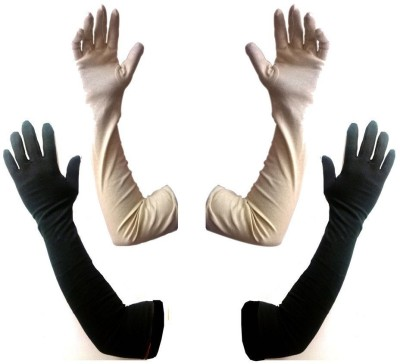 Aadishwar Creations Solid Protective Women Gloves at flipkart