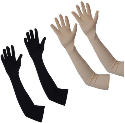 AccuStyle Self Design Protective Women Gloves