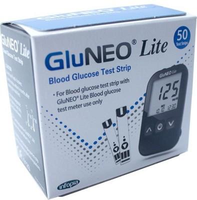 GLUNEO LITE 50 Glucometer Strips