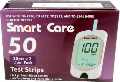 Smart Care 50 Glucometer Strips