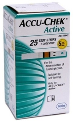 Accu-Chek 25 Glucometer Strips  available at flipkart for Rs.799