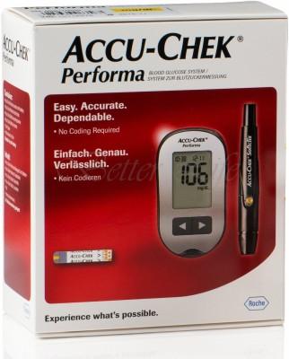 Accu-Chek Performa Glucometer(Red)