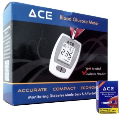 Ace Professional Glucometer(White)