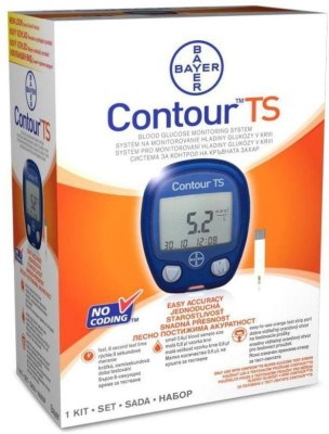 Bayer Contour TS Glucometer(Blue)