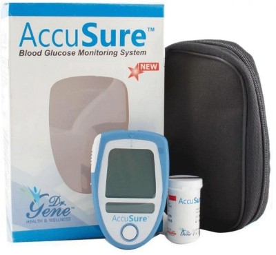 Dr Gene Accusure Glucometer(Blue)