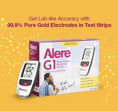 Alere G1 with 25 Strips Glucometer