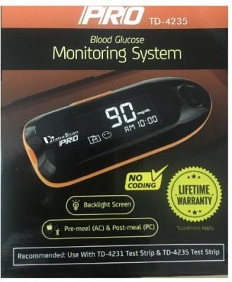 DiabaScan Pro Glucometer(Black)