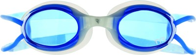 TYR Hydrolite Swimming Goggles(White, Blue)