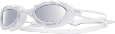 TYR Nest Pro Nano Mirrored Swimming Goggles(White)