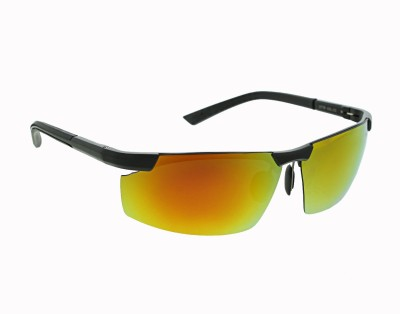 dc12d2a45a3 61% OFF on Vast Aluminum Magnesium Polarized Mirrored Anti Glare Driving  Cycling Fashion Stylish Mens Cycling Goggles(Black) on Flipkart