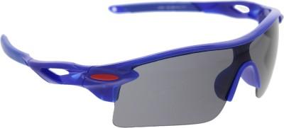 Vast 7 Layer Anti Glare Wrap Around All Sports And Cricket Goggles(Blue) at flipkart