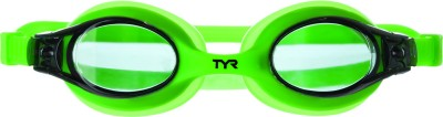 TYR Swimples Swimming Goggles(Black, Green)