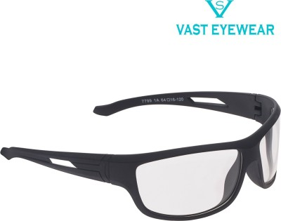Vast All Day Driving , Biking & Motorcycle Goggles(Multicolor)